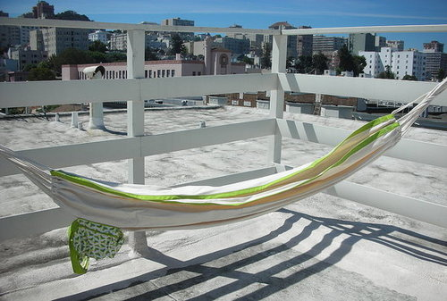 Casa Beta: MIO For Target Organic Cotton Fabric Hammock