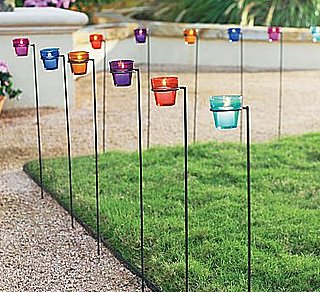 Steal of the Day: Glass Tealights With Garden Stakes