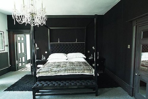 Coveted Crib: Black and White and Modern All Over