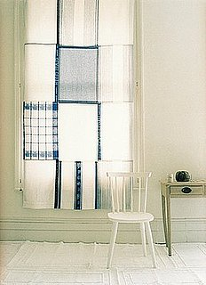 Cool Idea: Dish Towel Curtain