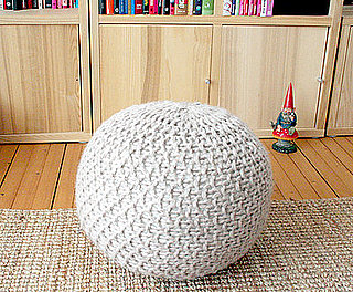 Cool Idea:  Knit Your Own Pouf