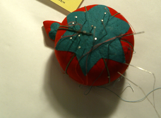 A Readymade Pincushion