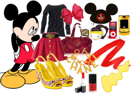 Mickey Mouse: A Polyvore Set