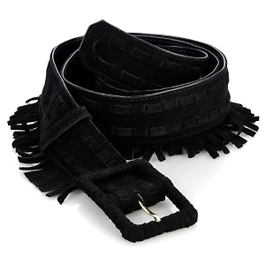 Loulou de la Falaise Suede Fringed Belt at HSN.com $44.90