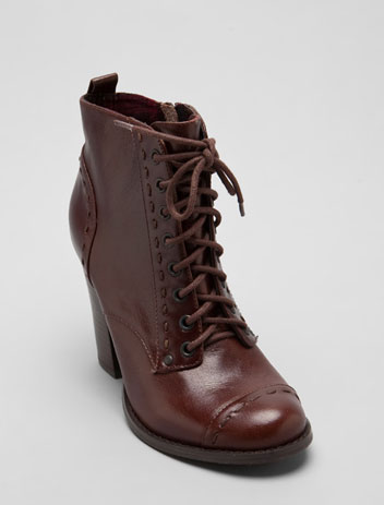 SEYCHELLES Cheerio Bootie in Dark Brown at Revolve Clothing - Free Shipping!