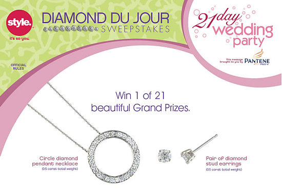Win a Diamond a Day from The Style Network!