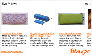 Relax and Unwind With an Eye Pillow