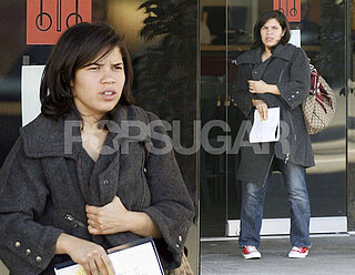 America Ferrera Takes a Day Off