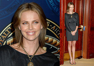 Charlize Stands Tall at The ASC Awards