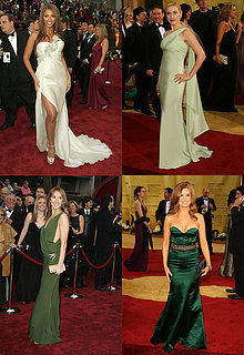Oscars Red Carpet Trend: Green Goddesses