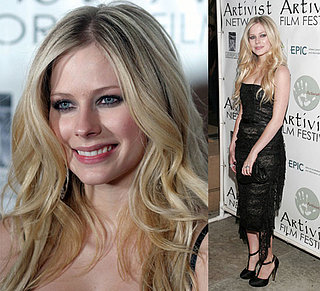 Avril Goes Glam