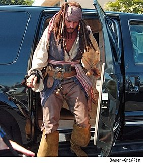 Who Knew Pirates Traveled by Car?