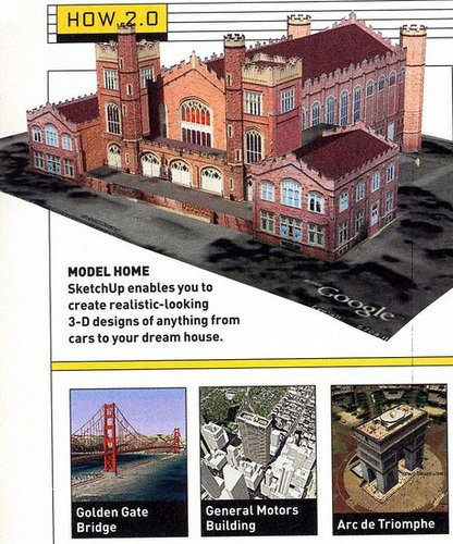 Web Trick: Design in 3D with free Google software SketchUp