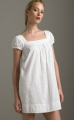 The Look for Less: Vince White Eyelet Empire Dress