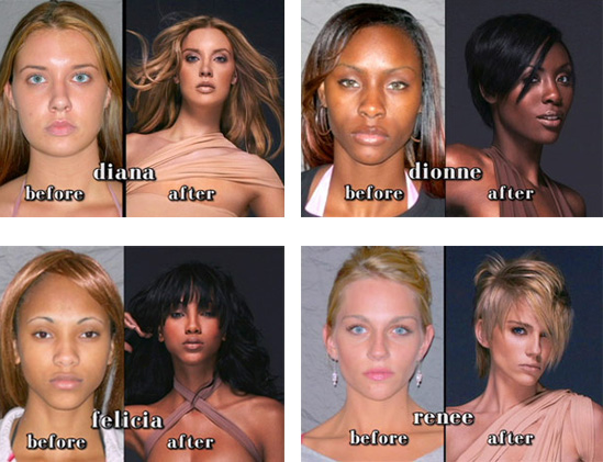 Who Got The Best Makeover on America's Next Top Model?