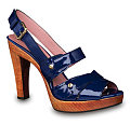 The Look for Less: Derek Lam Brigatta Blue Platforms