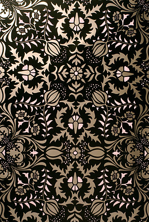 Simply Fab: Flavor Paper Handscreened Wallpaper
