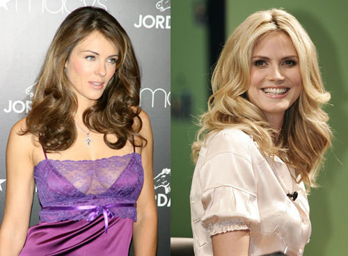 Fab Flash: Liz Hurley vs. Heidi Klum for Jordache
