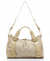 The Bag To Have: Kooba Charlie Gold Linen Duffle