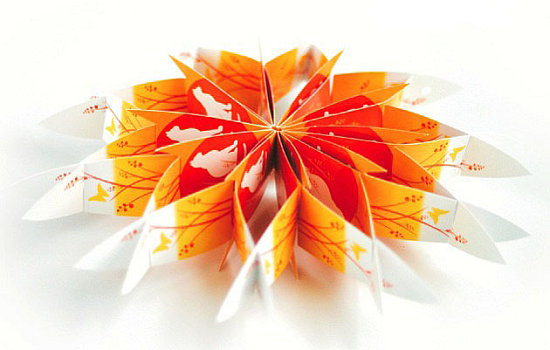 Simply Fab: Origami Greeting Card