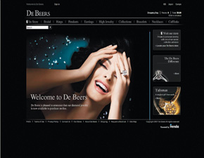 Fab Flash: De Beers Opening Online Boutique