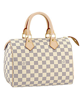 The Bag To Have: Louis Vuitton Damier Azur Speedy 25