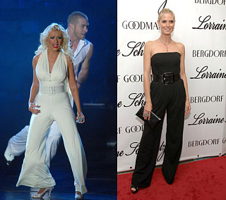 Who Wore It Better? White & Black Jumpsuits
