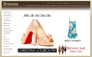 Fab Site: BrownsFashion.com