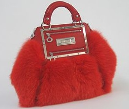 "Versace Red Fox Fur ""Hit"" Bag: Love It or Hate It?"