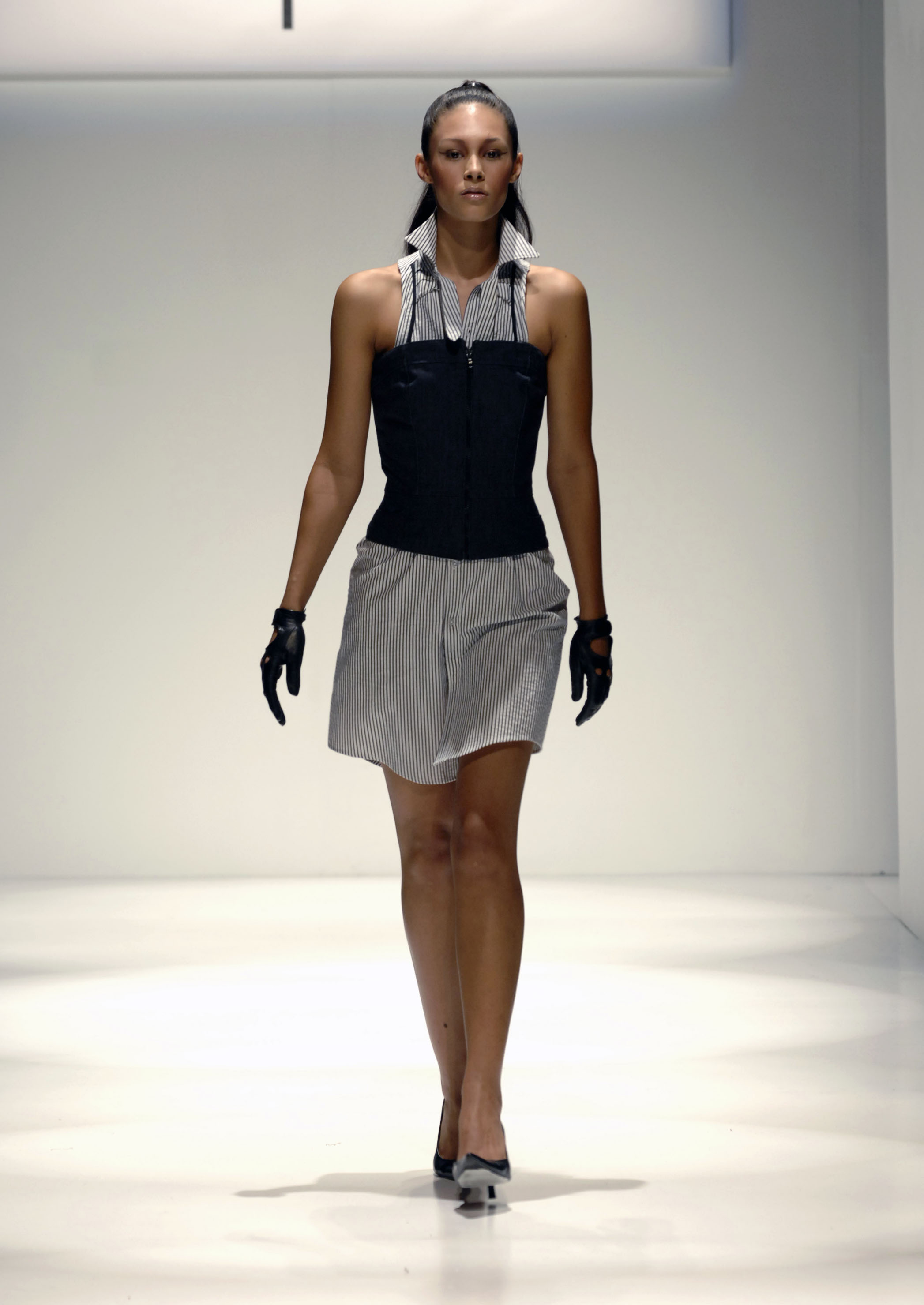 Dcepcion shirtdress with corset