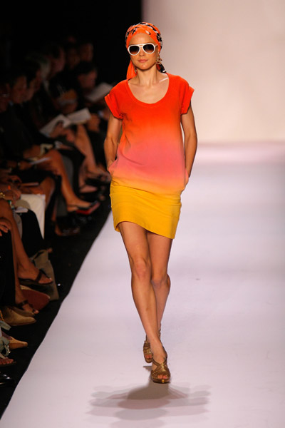 New York Fashion Week, Spring 2008: Diane von Furstenberg