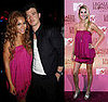Who Wore It Better? Catherine Malandrino Fuchsia Blouson Dress