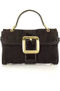 Guess Who Designed This Fierce Buckled Handbag?
