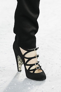 Chanel Crepe Open Shoe With Strass Buckles: Love It or Hate It?