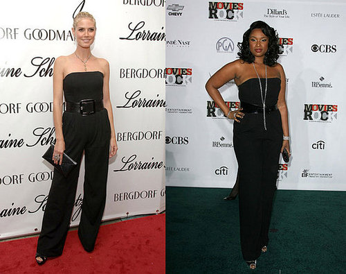 Who Wore It Better? Michael Kors Black Strapless Jumpsuit