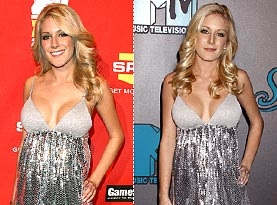 Heidi Hits the Red Carpet in the Same Dress Twice in One Week!