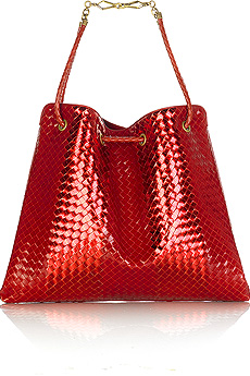 Trend Alert: Juicy Red Patent Handbags