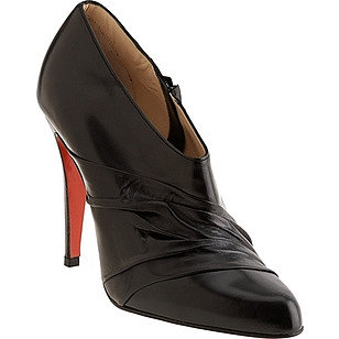 Christian Louboutin Pleated Shoe Bootie