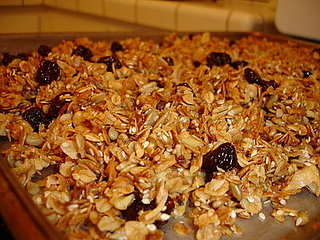 Savory Sight: Sweet Cherry Walnut Granola