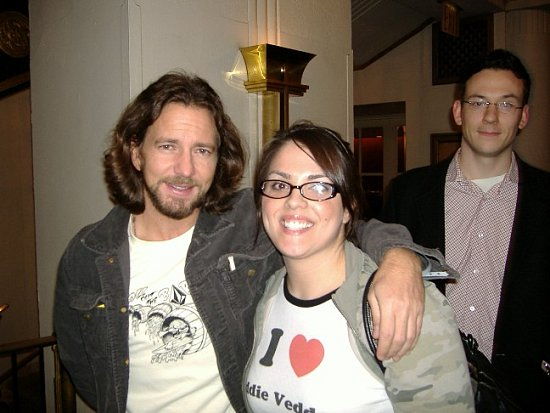 Celebrity Sighting: Eddie Vedder in NY