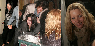Courteney and Lisa Chaperone Jennifer's Maybe-Date
