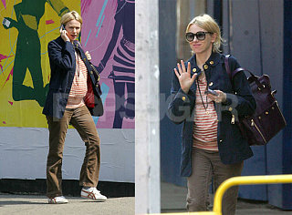 Naomi Watts Bump Watch: Orange Alert