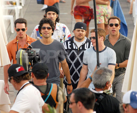 Entourage Boys Livin' It Up at Cannes