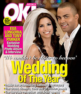 Eva & Tony's OK! Magazine Cover! Yay!