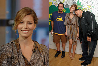 Jessica, James & Adam Boogie Boogie on TRL