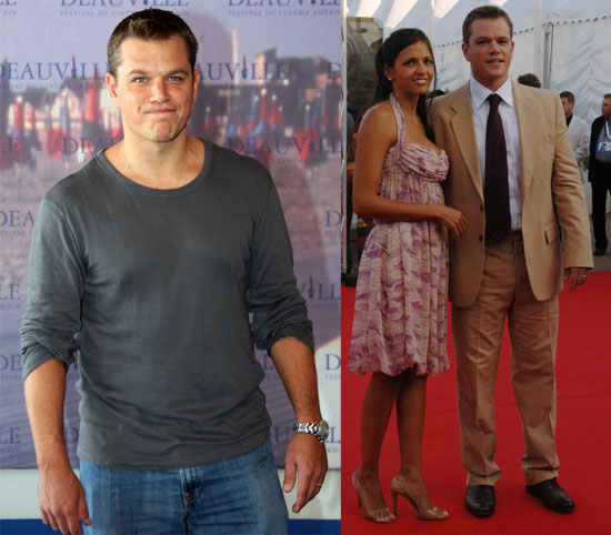 Matt Damon Goes Gray