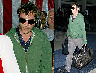 Joaquin Phoenix Packs With Style