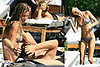 Tom & Gisele Take Their Beautiful Bodies to the Pool