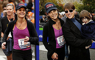 Katie Completes the NYC Marathon Then Heads Out for a Night on the Town