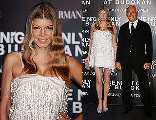 Fergie Belongs to Armani for One Night Only